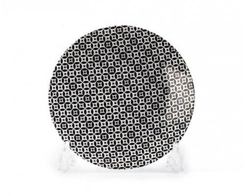 Тарелка 21 см Tunisie Porcelaine Черный Витон