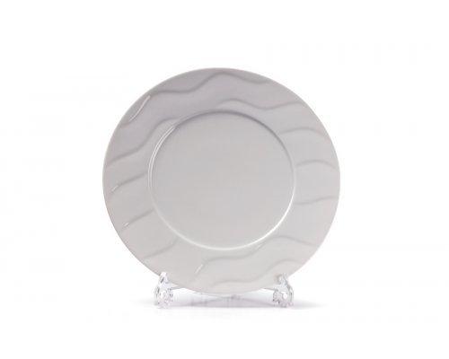 Tunisie Porcelaine Vagues Тарелка рифленая десертная 23 см