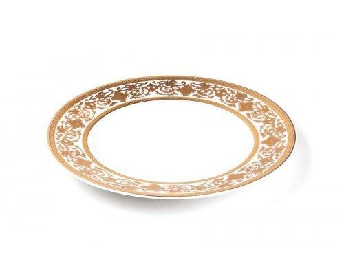 Tunisie Porcelaine Mimosa Ramses Or 632 набор тарелок 25см., на 6 персон