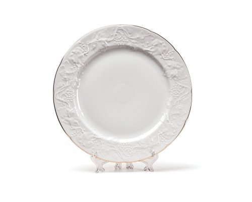 Tunisie Porcelaine Vendange Filet Or Тарелка 21 см