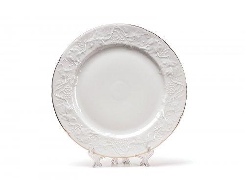 Tunisie Porcelaine Vendange Filet Or Тарелка 21 см