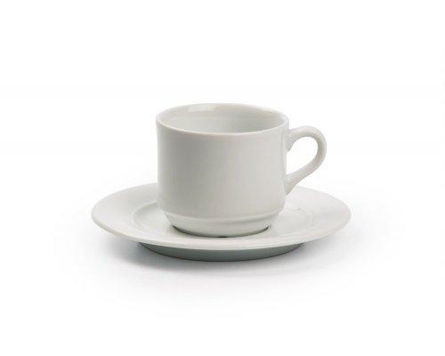 Tunisie Porcelaine Artemis Чайная пара V - 180мг, Д 7,2 х Н7см
