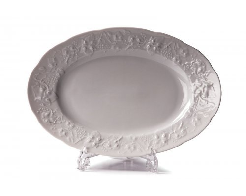 Tunisie Porcelaine Vendange Блюдо овальное, Д 28см