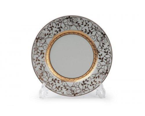 Tunisie Porcelaine Mimosa Lierre Or 947 набор тарелок 22см. на 6 персон