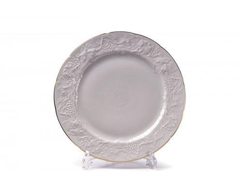 Tunisie Porcelaine Vendange Filet Or Тарелка 26 см