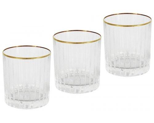 6 стаканов для виски Пиза золото Same