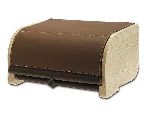 Хлебница Legnoart, цвет натуральный/коричневый (хлопок)
