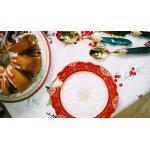 Тарелка обеденная новогодняя HERMITAGE Easy Life R2S (Изи Лайф) без индивидуальной упаковки
