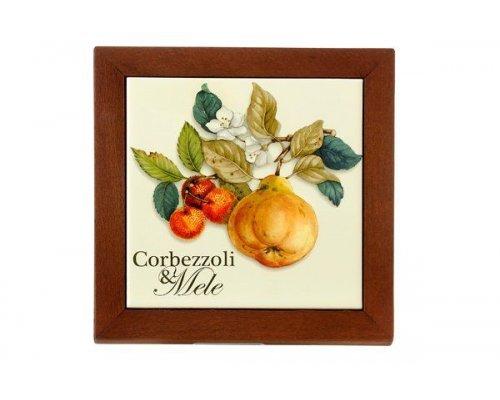 Подставка под горячее Итальянские фрукты Nuova Cer