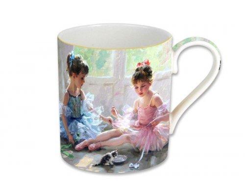 Кружка Carmani Балерины у окна, в подарочной упаковке