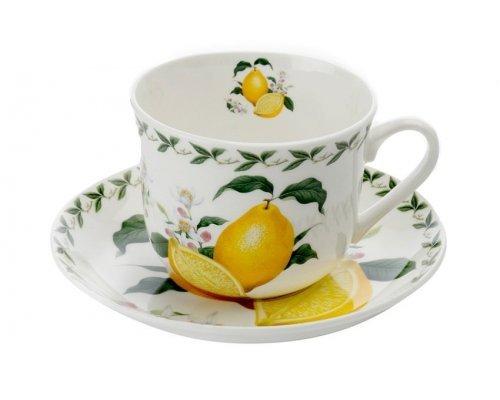 Чашка с блюдцем Maxwell & Williams Лимон 480 мл