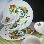 Тарелка обеденная Лимоны Julia Vysotskaya без индивидуальной упаковки