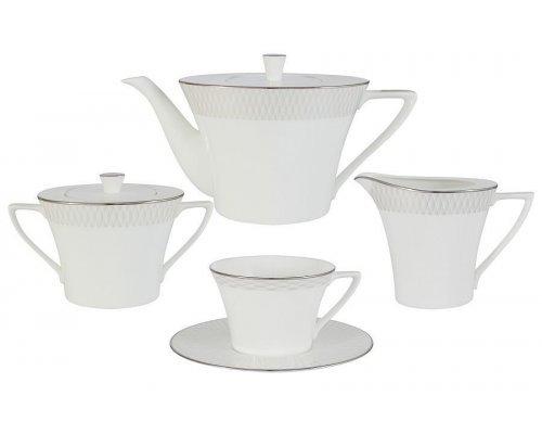 Чайный сервиз из 17 предметов на 6 персон Narumi Бриз (Ruffle)