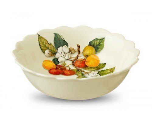 Тарелка суповая Итальянские фрукты Nuova Cer