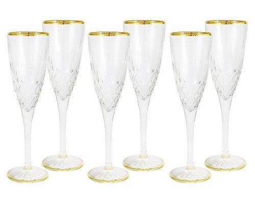 Набор: 6 бокалов для шампанского Уэльс Same