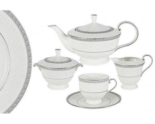 Чайный сервиз из 17 предметов на 6 персон Луна Narumi
