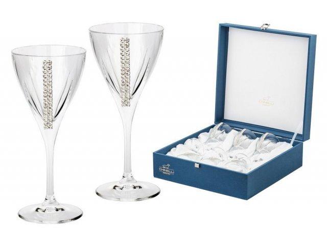 Набор из 6 бокалов для вина Gamma Регина Сваровски
