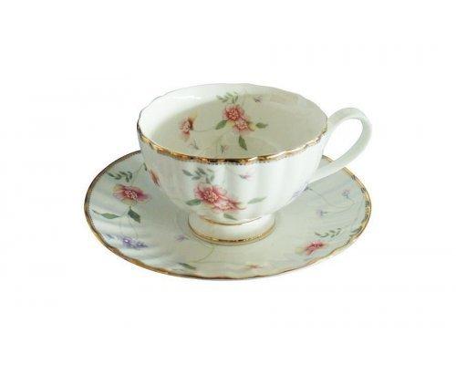 Чашка с блюдцем Флёр Colombo