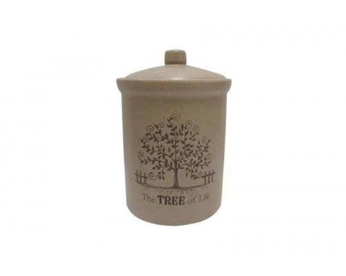Банка для сыпучих продуктов маленькая Дерево жизни Terracotta