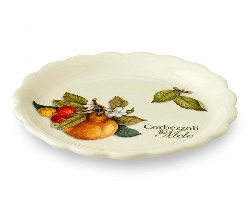 Тарелка закусочная Итальянские фрукты Nuova Cer