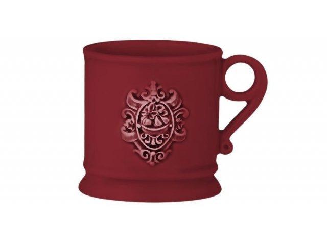 Кружка Nuova Cer Аральдо (бордовый)