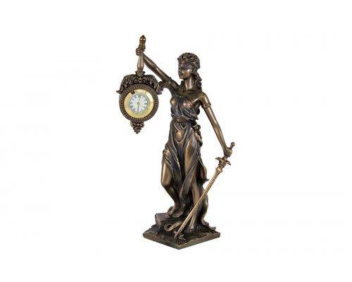 Статуэтка Юстиция с часами