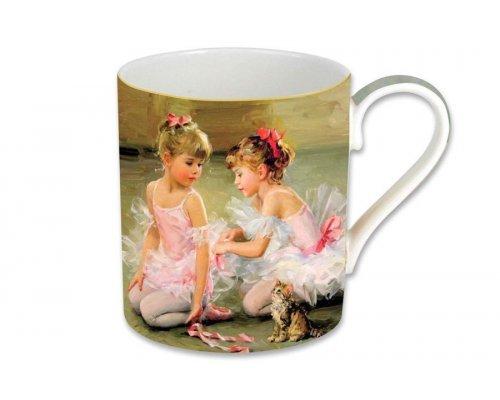 Кружка Carmani Балерины, в подарочной упаковке