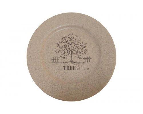 Обеденная тарелка Дерево жизни Terracotta