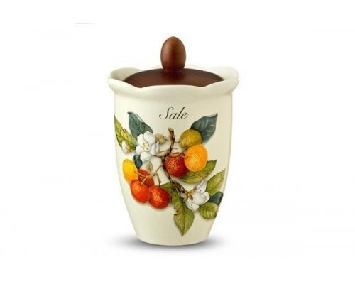 Банка для сыпучих продуктов (соль) Итальянские фрукты Nuova Cer