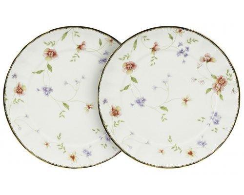 Набор из 2-х обеденных тарелок Флёр Colombo
