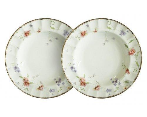 Набор из 2-х суповых тарелок Флёр Colombo