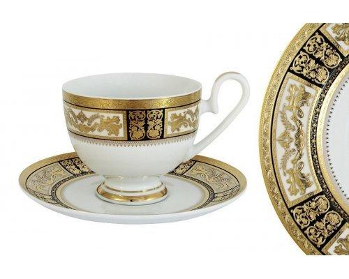 Чашка с блюдцем Елизавета Midori