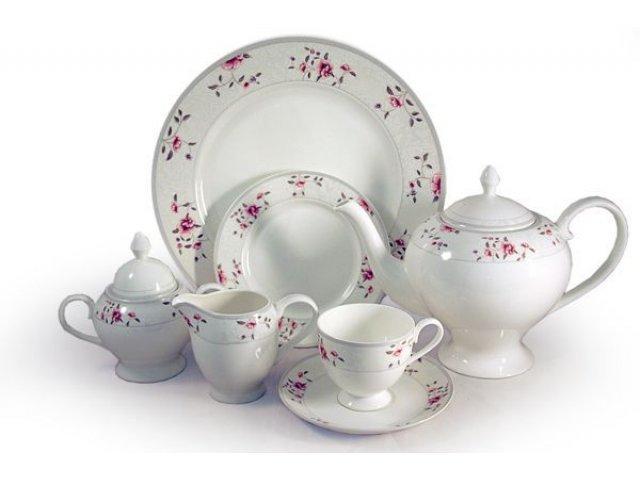 Чайный сервиз Emily Идилия 40 предметов на 12 персон