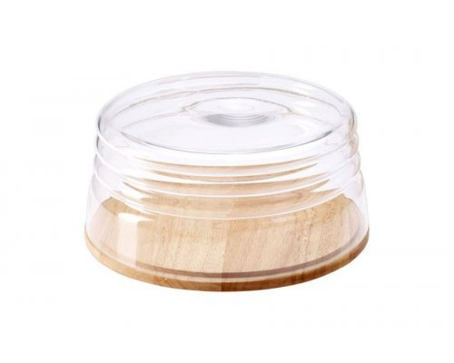 Емкость для сыра/миска для салата Continenta, качуковое дерево