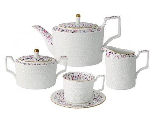 Чайный сервиз из 15 предметов на 6 персон Стиль Colombo