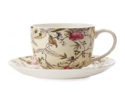 Чашка с блюдцем Летние цветы Maxwell & Williams в подарочной упаковке