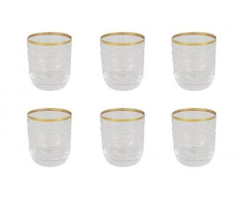 Набор: 6 хрустальных стопок для водки Венето Same
