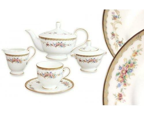 Чайный сервиз 17 предметов на 6 персон Наслаждение Narumi