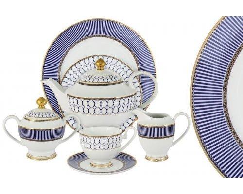 Чайный сервиз Адмиралтейский Midori 42 предмета на 12 персон