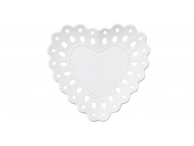 Тарелка (сердце) Лилия 13 см  Maxwell & Williams в подарочной упаковке, малая