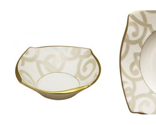 Набор из 6 салатников Narumi Грегори (Gregory Gold)