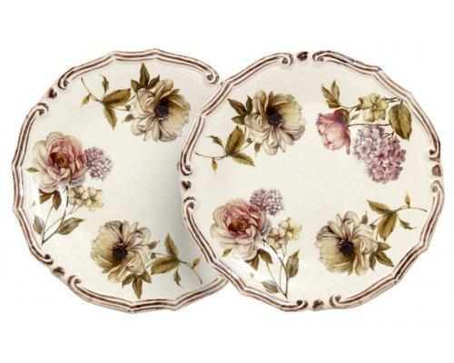 Набор из 2-х десертных тарелок Сады Флоренции LCS