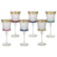 Набор: 6 бокалов для вина Same Цветная Флоренция