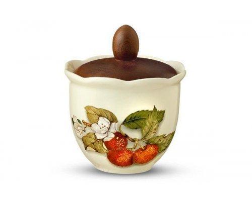 Банка для сыпучих продуктов 12см, 0,35л Итальянские фрукты Nuova Cer