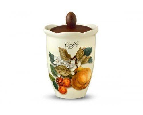 Банка для сыпучих продуктов (кофе) Итальянские фрукты Nuova Cer