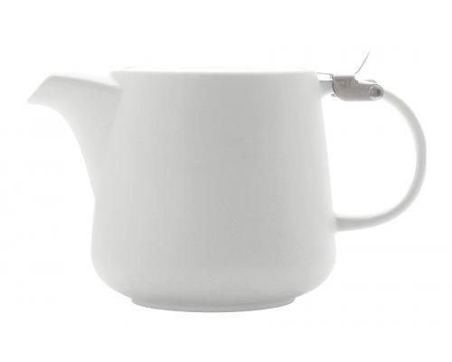 Чайник с ситечком Maxwell & Williams Оттенки (белый) в индивидуальной упаковке