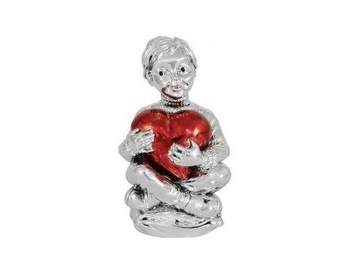 Статуэтка Gamma Мальчик с красным сердцем
