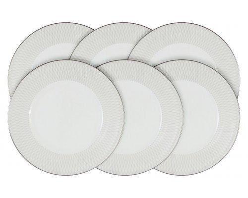Набор из 6 десертных тарелок Narumi Бриз (Ruffle)