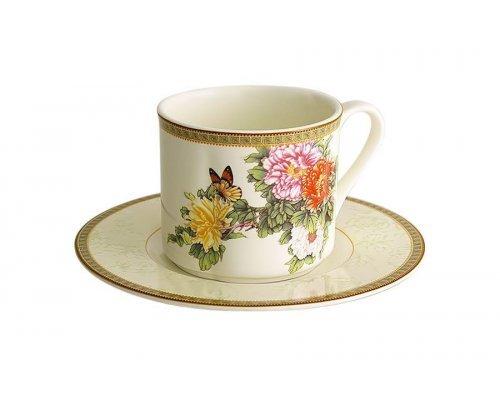 Чашка с блюдцем Японский сад IMARI
