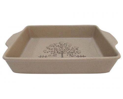 Прямоугольное блюдо для выпечки Дерево жизни Terracotta